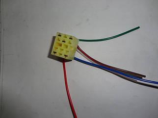 Разъем на кнопку наружного освещения (разъем большой кнопки) ВАЗ 2114-2115,1118,2170 (22434)