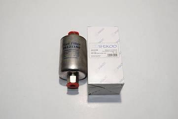 Фильтр топливный ВАЗ 2108- 12, Land Rover инжектор (под гайку) (нержавейка) Shikoo