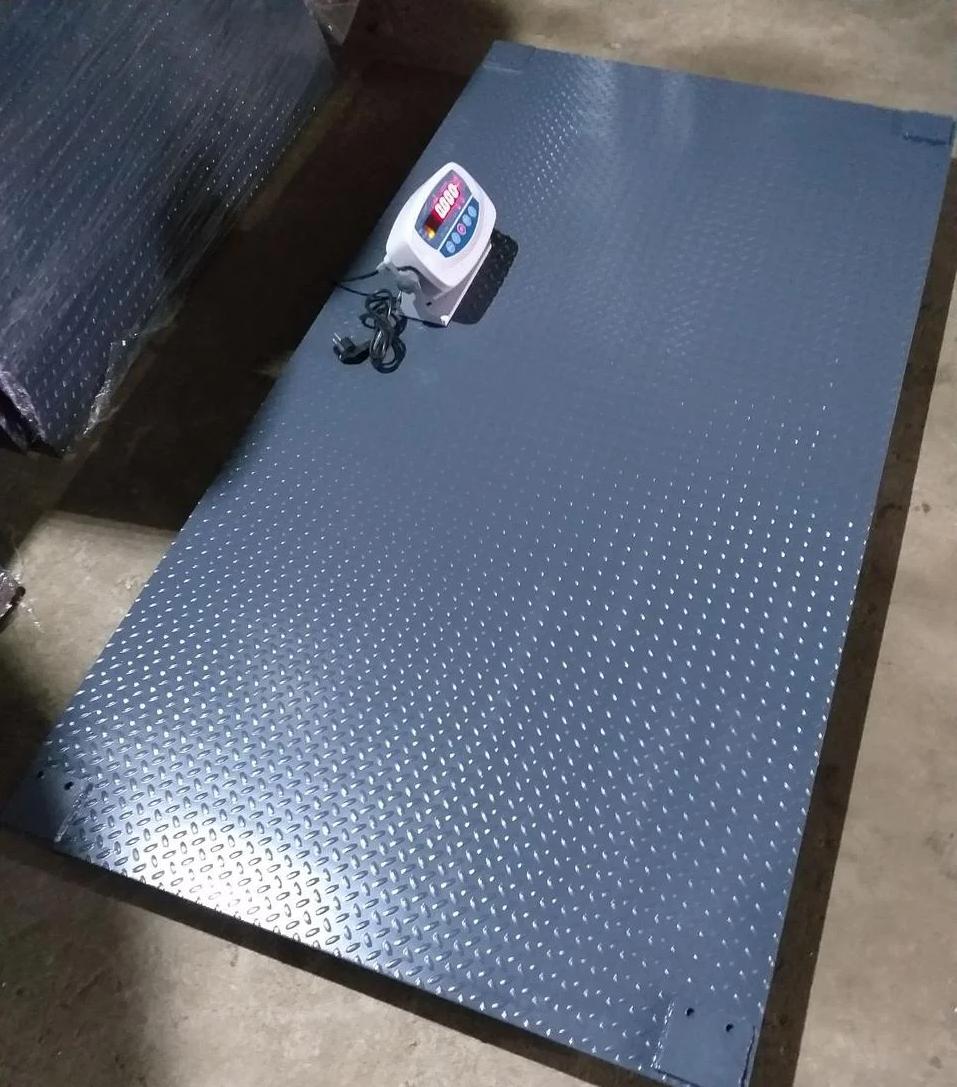 Весы для взвешивания животных VTP-G-1015 (500 кг, 1000х1500 мм) без клетки