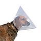 Ветеринарный воротник Trixie на застёжке XS-S 22-25 см / 10 см (пластик), фото 2