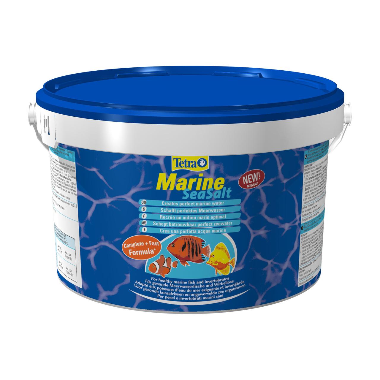 Морская соль Tetra «Marine Sea Salt» 8 кг