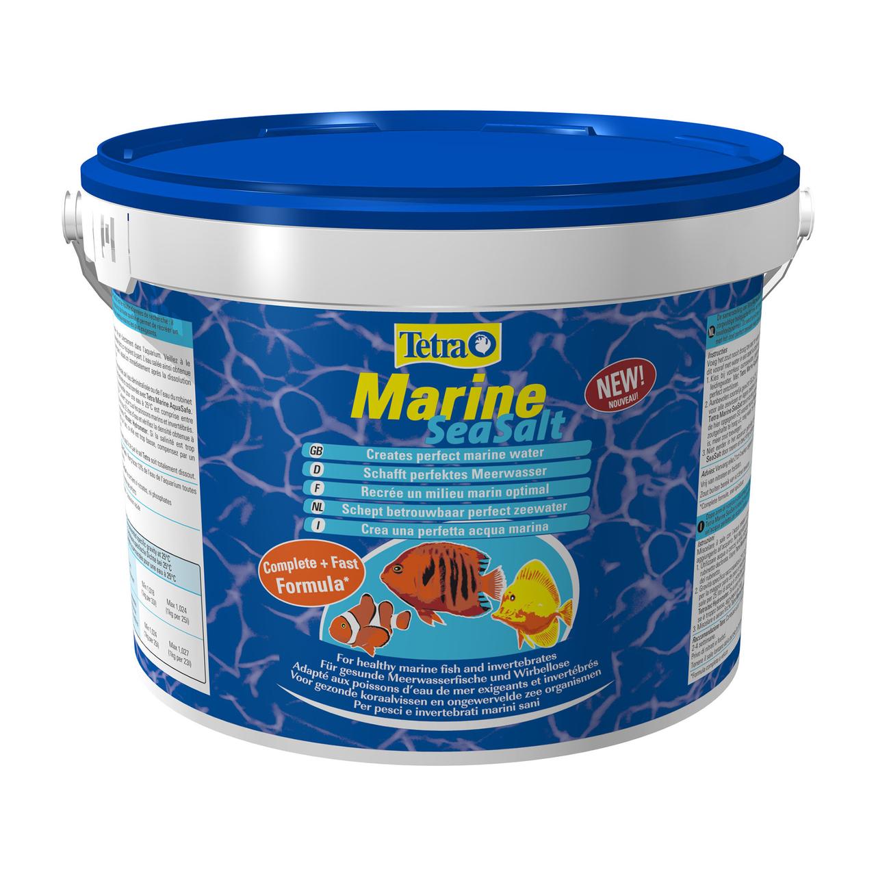 Морская соль Tetra «Marine Sea Salt» 20 кг