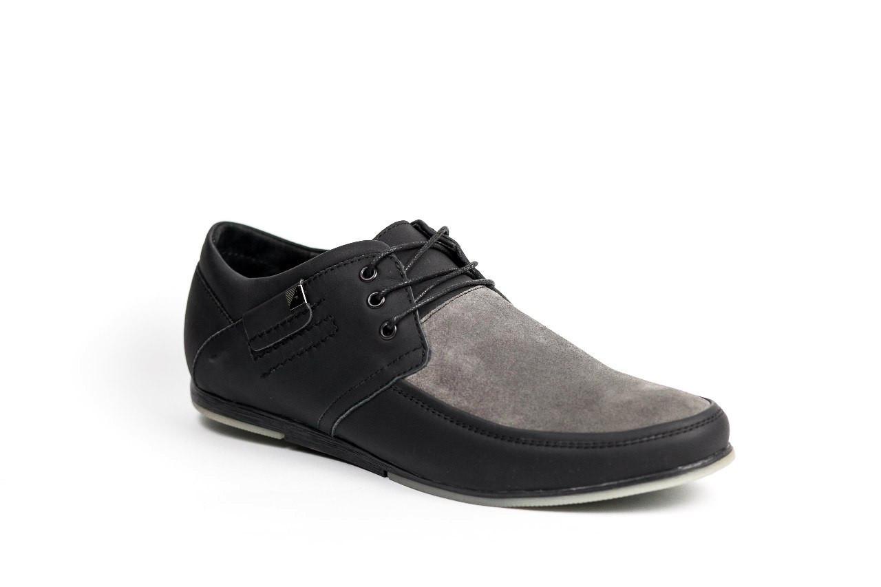 Туфлі Affinity чорно-сірі - 42 розмір