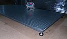 Весы для взвешивания животных VTP-G-1015 (600 кг, 1000х1500 мм) без клетки, фото 3