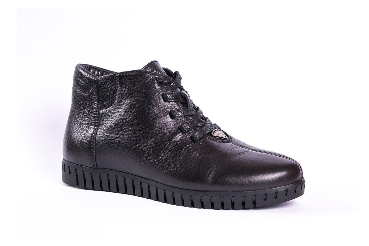 Ботинки мужские зимние Prime shoes черные