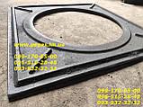 Плита чавунна під казан 550х550 мм барбекю, мангал, печі, фото 4