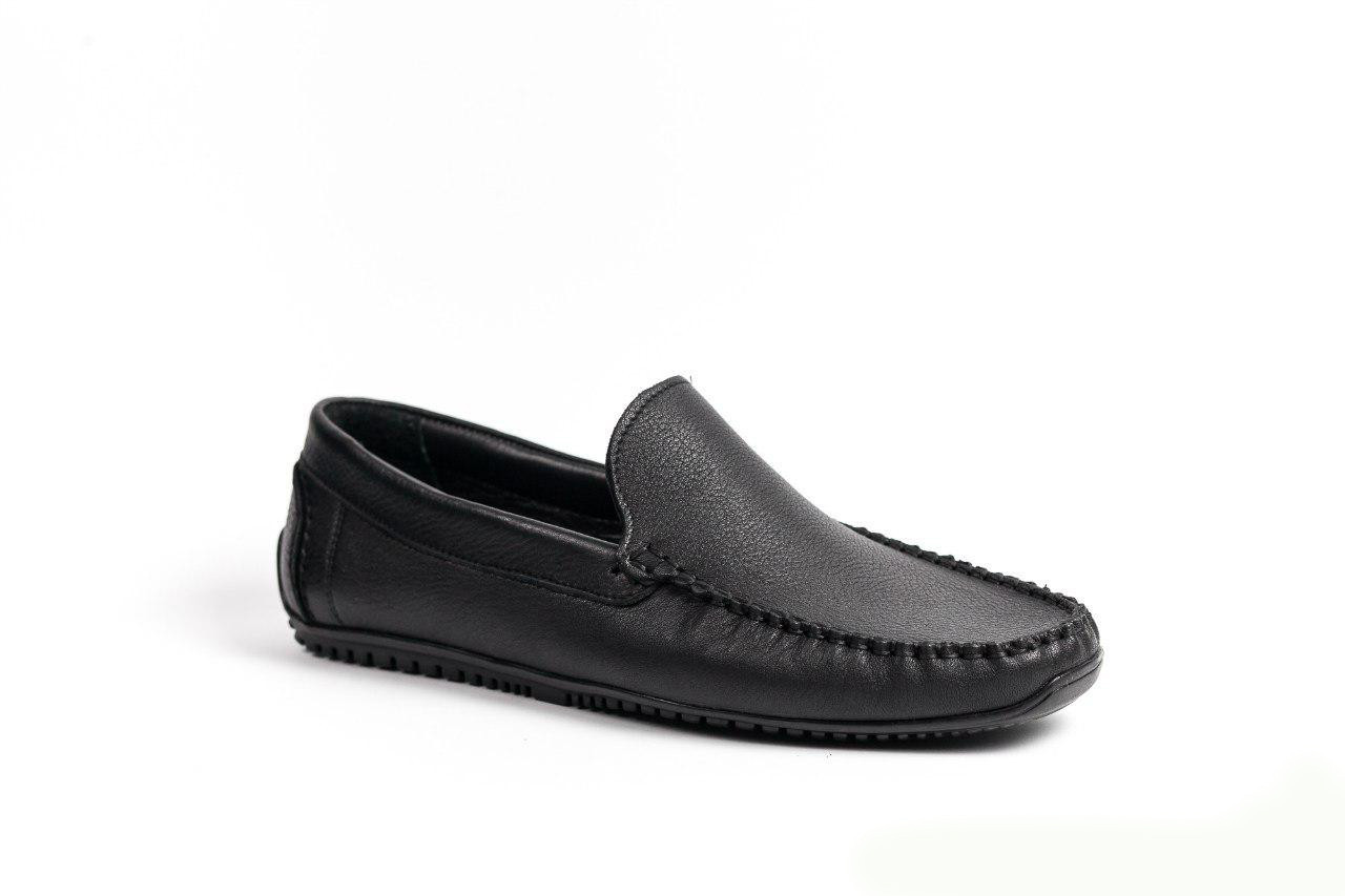 Мокасини чоловічі Prime Shoes чорні
