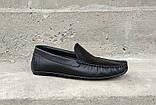 Мокасини чоловічі Prime Shoes чорні, фото 2