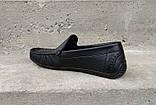 Мокасини чоловічі Prime Shoes чорні, фото 3