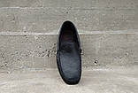 Мокасини чоловічі Prime Shoes чорні, фото 4