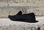 Замшеві Мокасини Prime shoes сині, фото 5