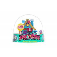 Игровая фигурка Jazwares Nanables Small House Зимняя страна чудес Книжный магазин У камина (NNB0032)