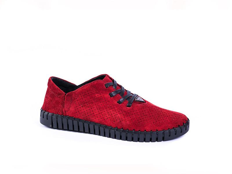 Мокасини Prime Shoes червоні