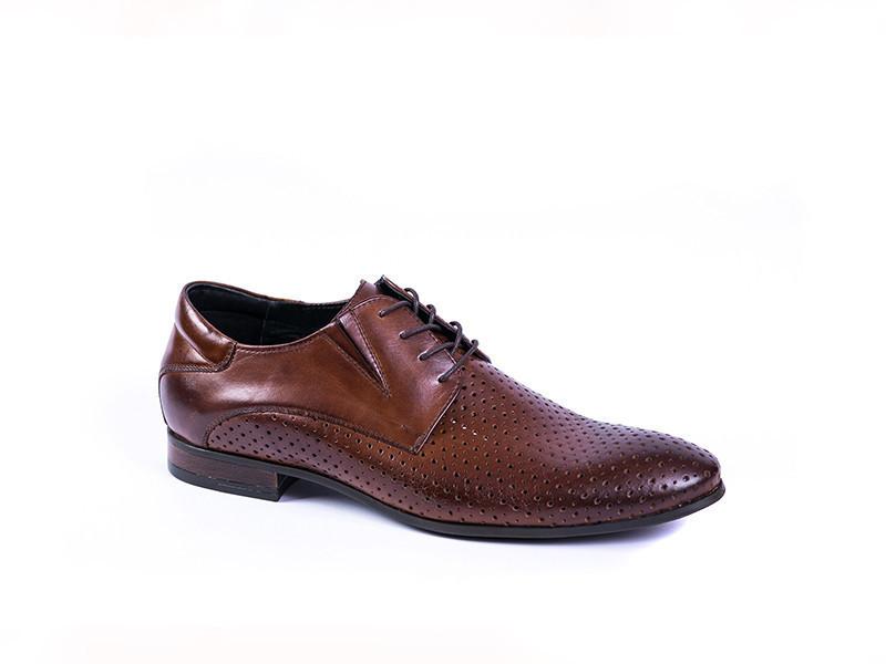 Туфлі літні Pan коричневі