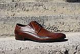 Туфлі літні Pan коричневі, фото 3