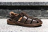 Сандалі Mario Boschetti коричневі, фото 4