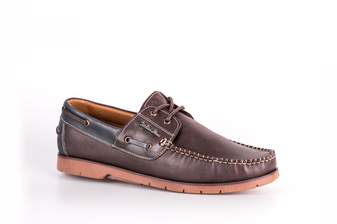Топсайдери Prime Shoes коричневі