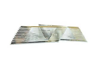 Накладка вентиляционная ВАЗ 2106 хром (к-кт 2 шт)