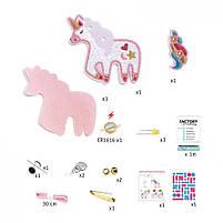 """Набір для творчості DJECO """"Брошка Sweet Unicorn E-textil"""" (DJ09321), фото 2"""
