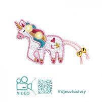 """Набір для творчості DJECO """"Брошка Sweet Unicorn E-textil"""" (DJ09321), фото 4"""