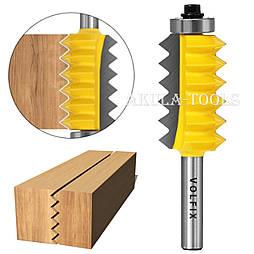 Фреза для зрощування деревини (мікрошип) (мікрошип) по ширині і довжині по дереву VOLFIX FZ-120-515 d8