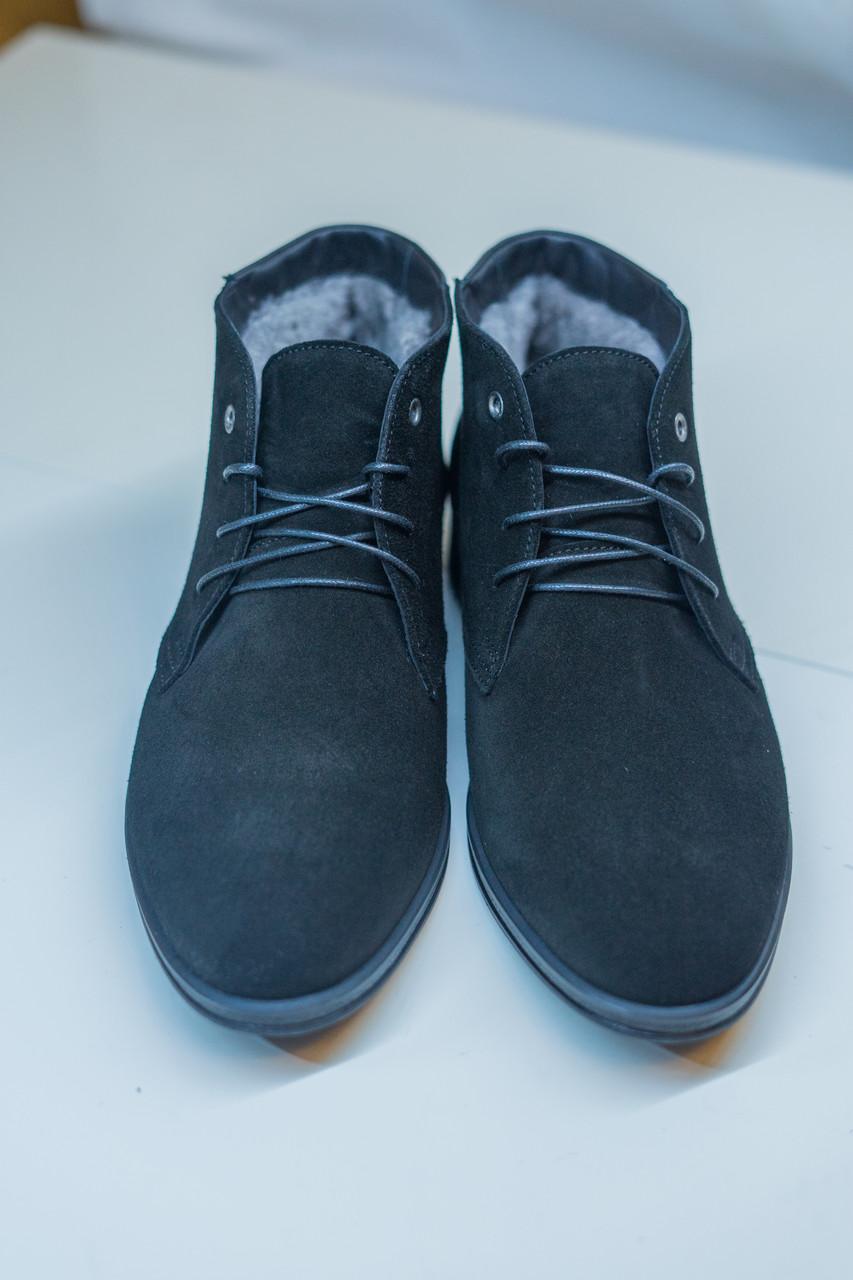 Класична зимове взуття Ікос чорного кольору