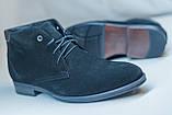 Класична зимове взуття Ікос чорного кольору, фото 3