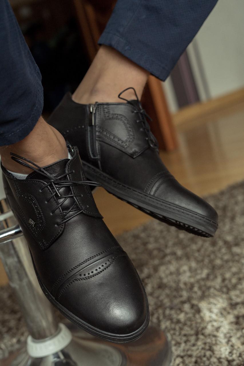 Зимові черевики VR Z 167 чорні - 44 розмір