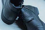 Зимові черевики VR Z 167 чорні - 44 розмір, фото 4