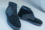 Зимові черевики чорні VadRus, фото 9