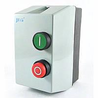 Контактор QCX2-09 (типа КМИ10960  9А) в оболочке Ue=220В/АС3  IP54