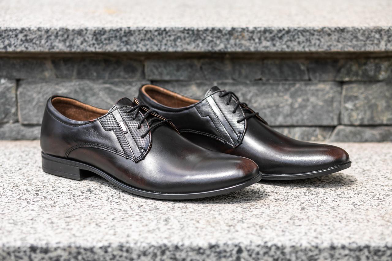 Елегантні ШКІРЯНІ чоловічі туфлі. Від Польського виробника.