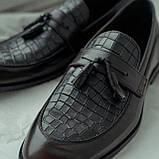 Туфлі лофери, коричневі., фото 2
