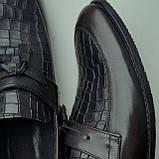 Туфлі лофери, коричневі., фото 7