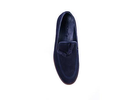 Туфлі лофери, сині., фото 2