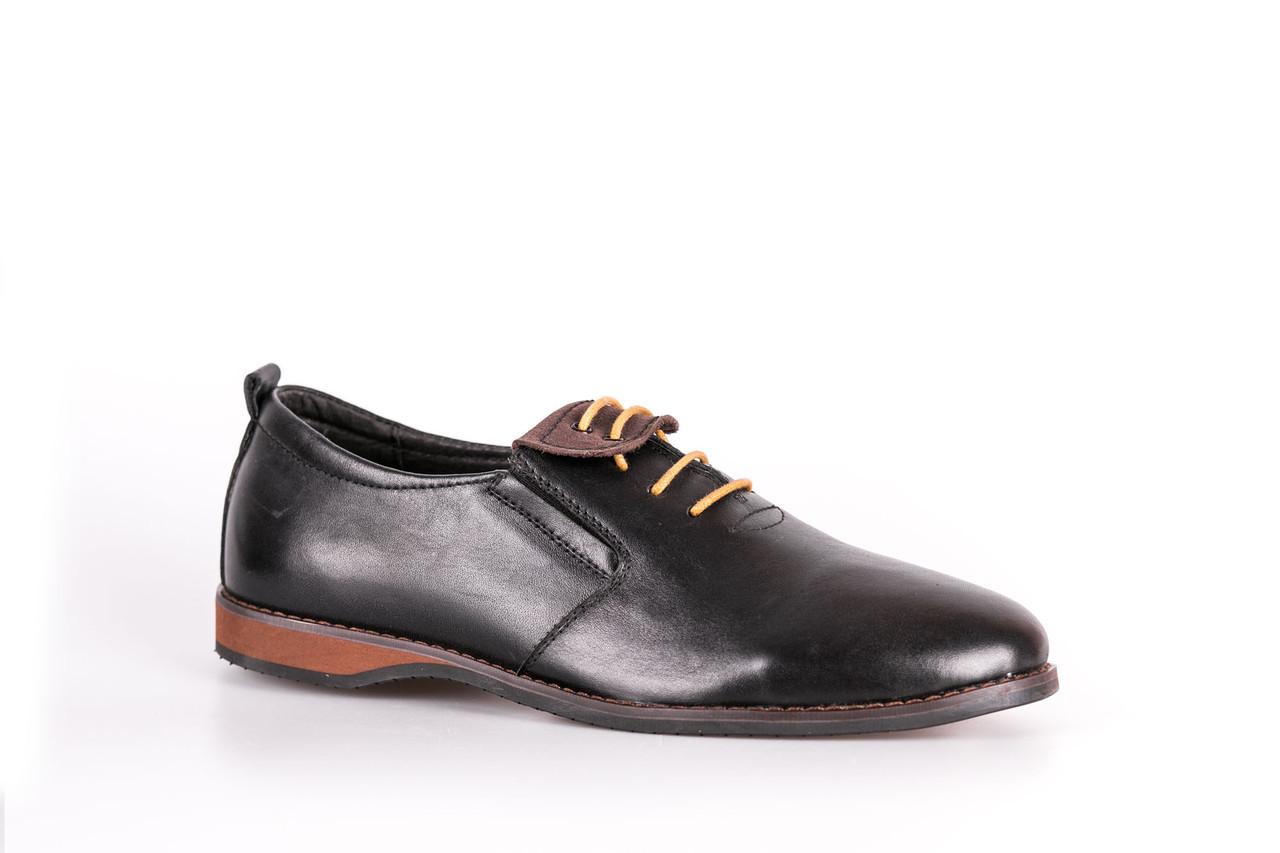 Туфлі шкіряні VadRus чорні - розмір 40,5