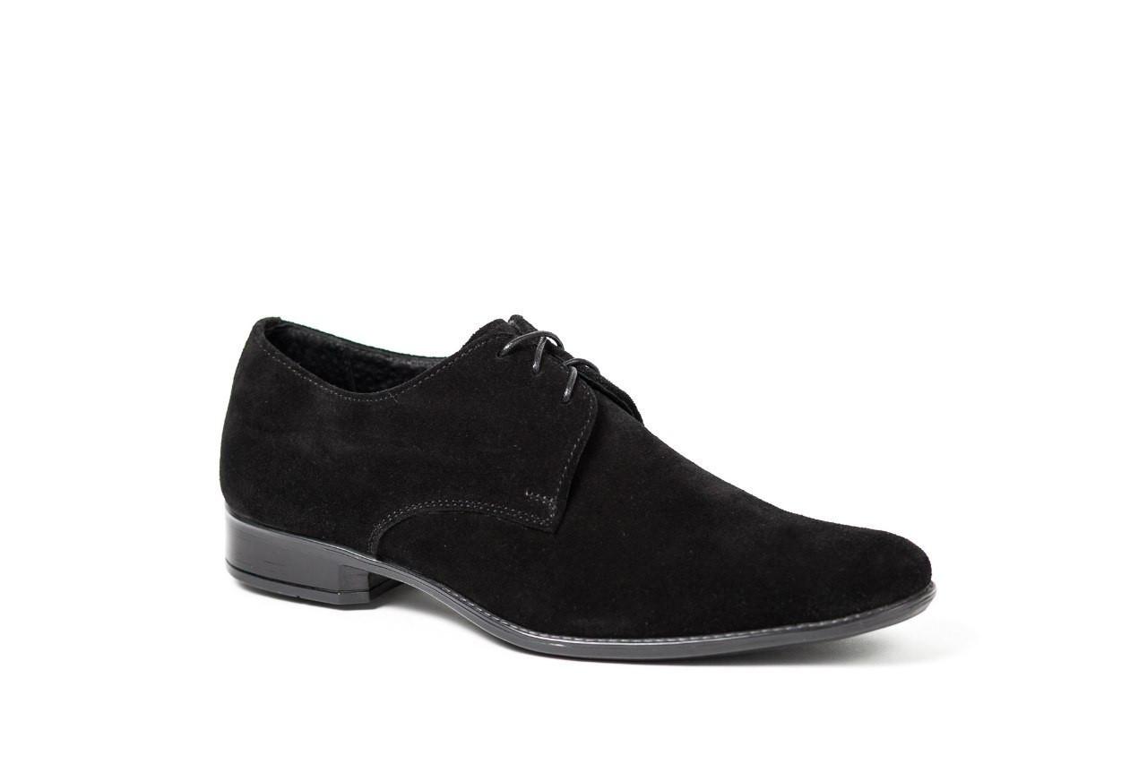 Туфлі підліткові Mano замшеві, чорні