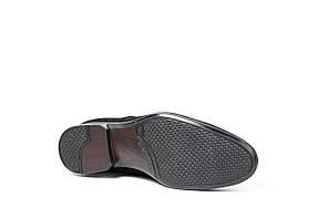 Туфлі підліткові Mano замшеві, чорні, фото 3