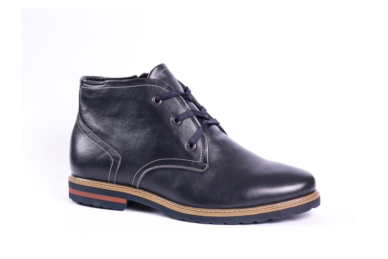 Чоловічі черевики Berg сині великих розмірів 46-49