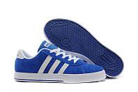Кроссовки мужские Adidas NEO (адидас) синие