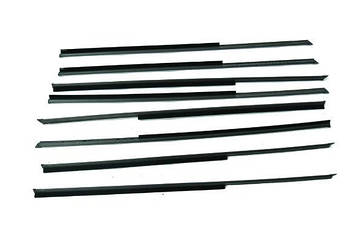 Уплотнитель стекол двери ВАЗ 2106 (бархотки)