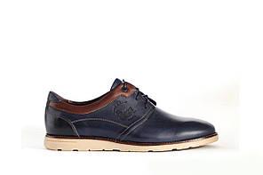 Сині туфлі ІКОС комфортні - 43 розмір, фото 2
