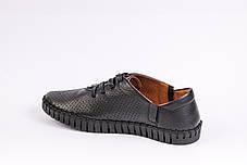Шкіряні Мокасини Prime Shoes чорні, фото 3