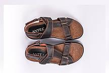 Босоніжки ANTEC коричневі, фото 3