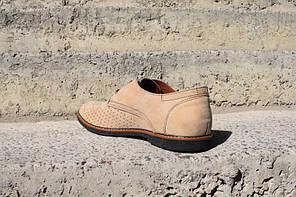 Туфлі літні VadRus бежеві, фото 3