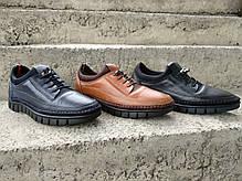 Кросівки Luciano Bellini сині, фото 3