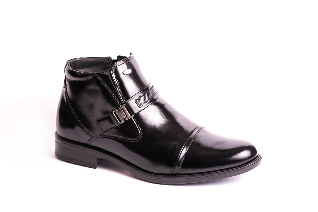 Черевики зимові Pan чорні - 42,5 розмір