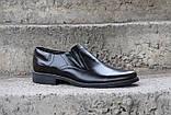 Чоловічі чорні туфлі Pan, фото 2