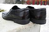 Чоловічі чорні туфлі Pan, фото 6