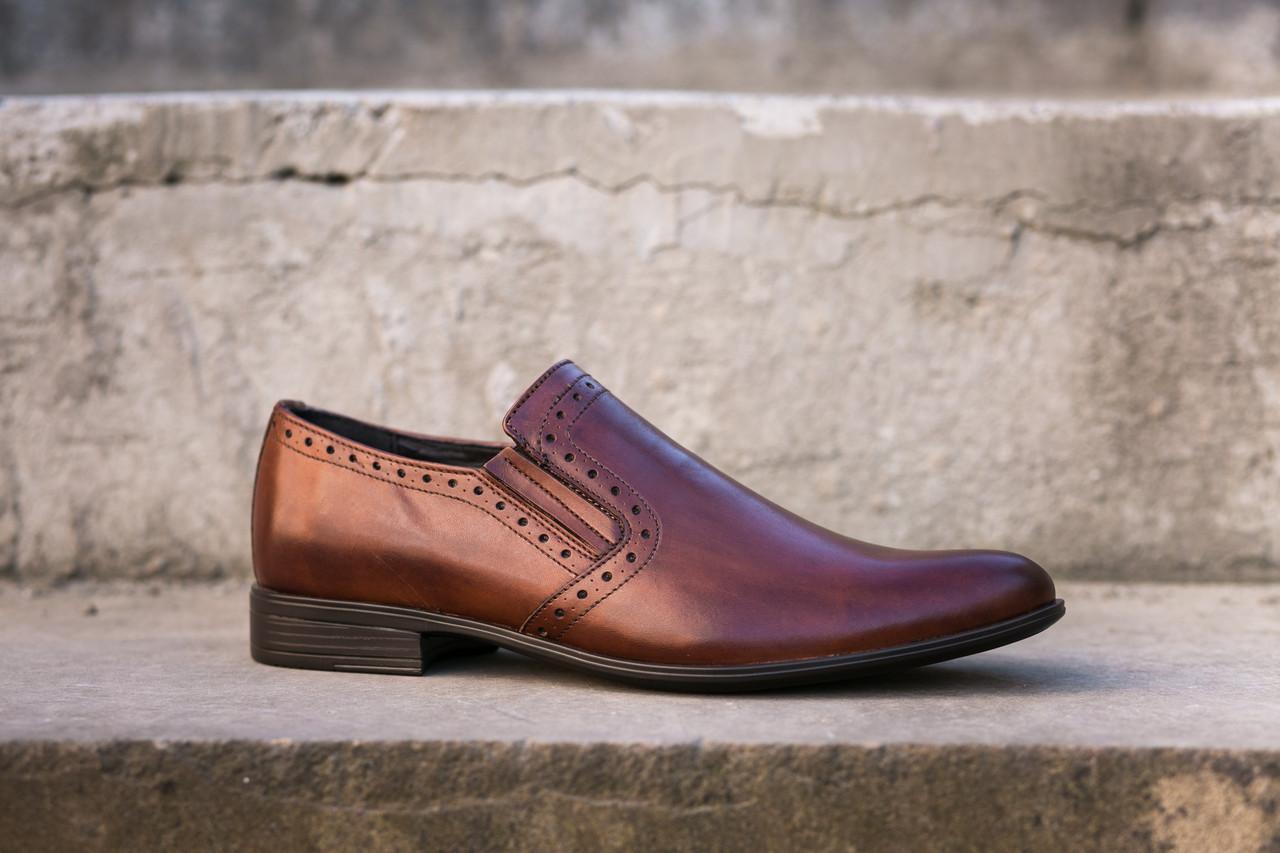 Туфлі коричневі Tapi